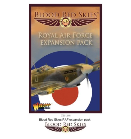 Blood Red Skies RAF expansion cards pack Warlord Games