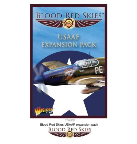 Blood Red Skies USAAF expansion cards pack Warlord Games