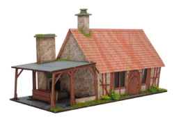 Burrows & Badgers LORGAM'S SMITHY BB16 MDF BUILDINGS Sarissa Precision