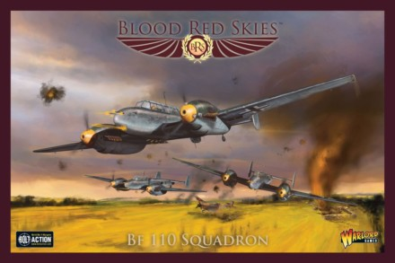 Blood Red Skies BF 110 SQUADRON Warlord Games