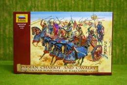 PERSIAN CHARIOT AND CAVALRY 1/72 Zvezda 8008