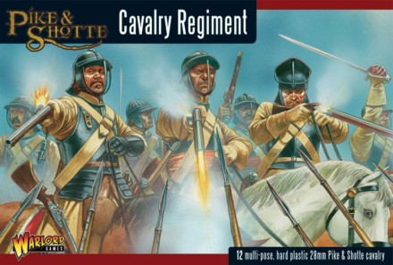 Pike & Shotte Cavalry plastic boxed set Warlord Games 28mm