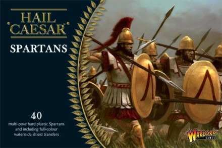 Spartans plastic boxed set 28mm