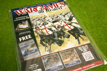 WARGAMES ILLUSTRATED 392 AUGUST 2020 MAGAZINE-FREE VICTORY at SEA Manual