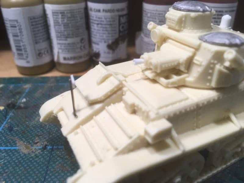 Close up of the 0.5 inch machine gun muzzle.