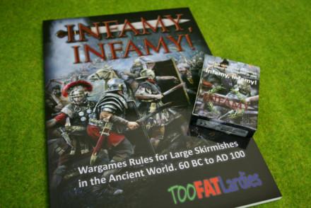 INFAMY INFAMY RULE BOOK AND CARD SET TOOFATLARDIES