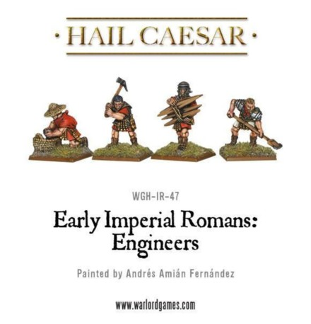 Warlord Games EARLY IMPERIAL ROMAN ENGINEERS 28mm WG IR ENG1
