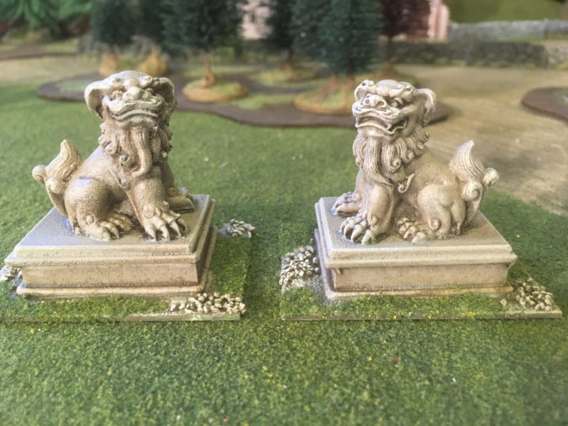 Temple Dogs from Ainstey Castings