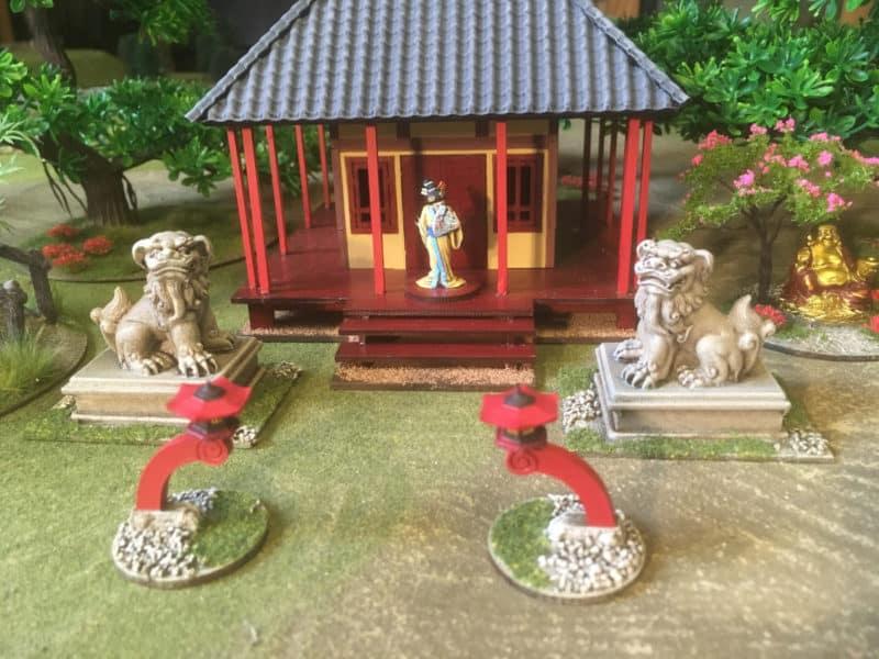 Temple Shrine and Garden