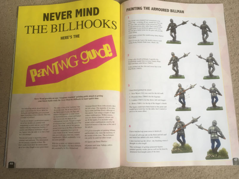 Never mind the Bill Hooks Painting article by your truly!