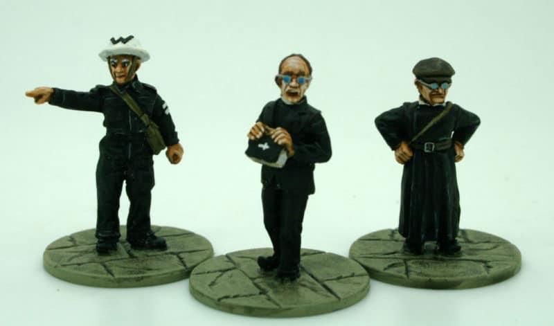 Vicar, Verger and Warden