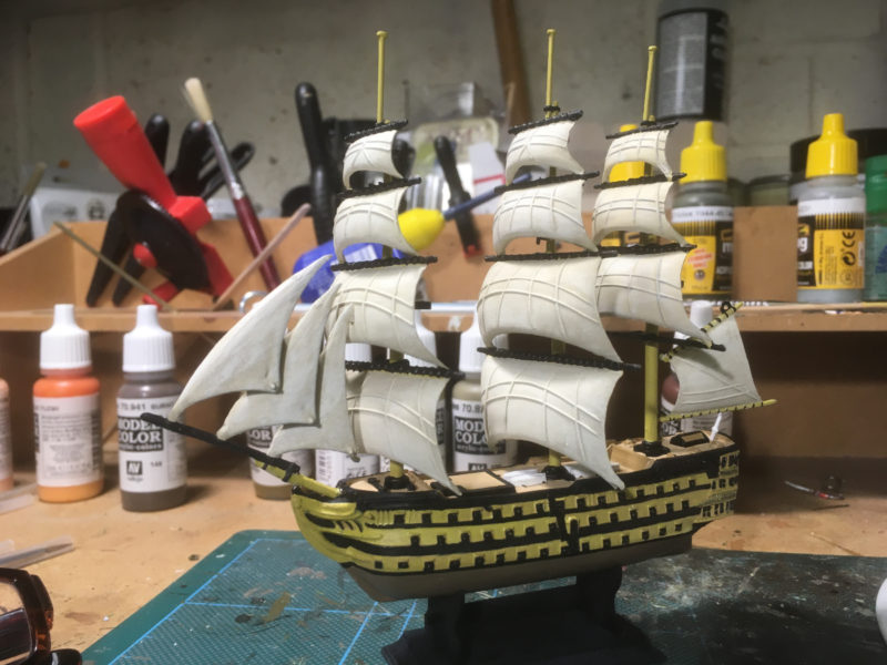 HMS VICTORY - an Airfix kit