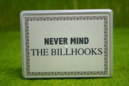 NEVER MIND THE BILL HOOKS CARD DECK
