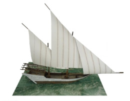 ARAB DHOW SAILING SHIP G121 (28MM) Sarissa Precision
