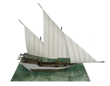 ARAB DHOW SAILING SHIP G121 (28MM) Sarissa Precision