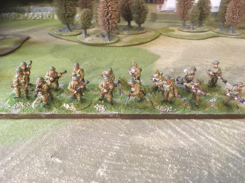 Crusader and Warlord WW2 British Infantry