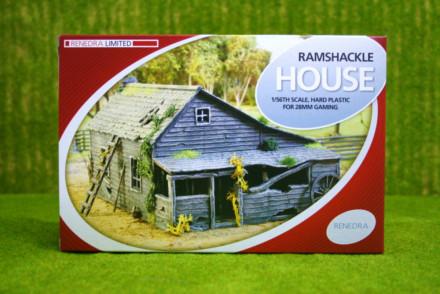 RAMSHACKLE HOUSE RENEDRA Plastic Scenery & Terrain 28mm – 1/56th Scale