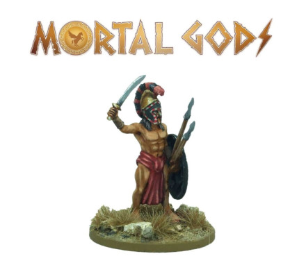 MORTAL GODS Athenian Marine Lochagos (metal) 28mm MG021