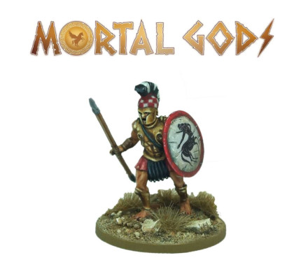 MORTAL GODS Mercenary Lochagos (metal) 28mm MG015