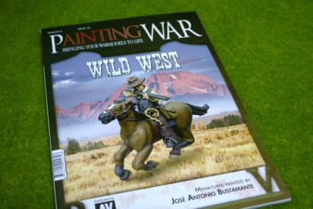 PAINTING WAR ISSUE #10 WILD WEST BOOK/ MAGAZINE