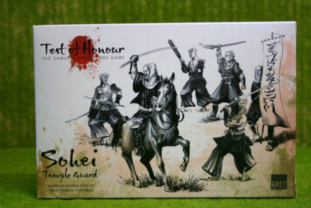 Test of Honour SOHEI TEMPLE GUARD Miniatures Boxed Set from Grey for now games gfn-toh-17