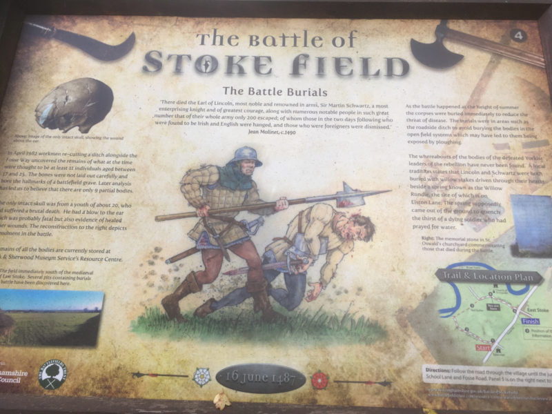 Story board from the battlefield