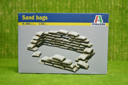 Italeri 1:35 Scale Sand Bags for Dioramas 406