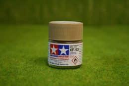 Tamiya Color LIGHT BROWN Acrylic Mini Paint XF93 10mls