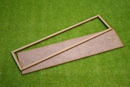 MDF laser cut MOVEMENT TRAY (10×2) 25mm Infantry (10×1) Cavalry Bases