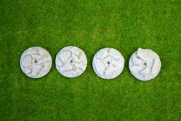 30mm ROUND FLYING Resin Base Slate for Fantasy of Sci-Fi RPG games