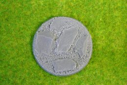 60mm ROUND FLYING Resin Base Slate for Fantasy of Sci-Fi RPG games