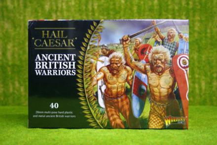 Hail Caesar ANCIENT BRITISH WARRIORS Warlord Games 28mm set