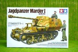 Tamiya GERMAN  JAGDPANZER MARDER I TANK 1/35 Scale Kit 35370