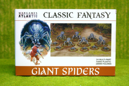 Giant Spiders Wargames Atlantic Plastic Boxed Set 28mm
