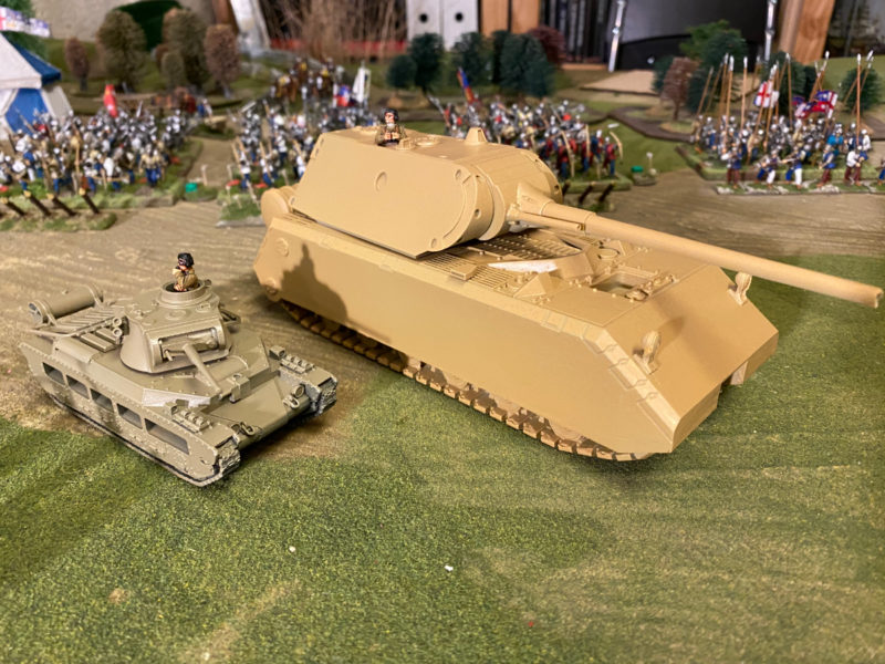 Matilda and Maus, undercoated and ready for finishing!