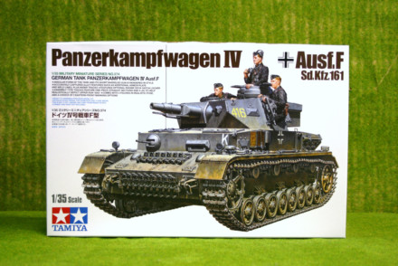 Tamiya GERMAN PANZERKAMPFWAGEN IV AUSF F 1/35 Scale 35374 D