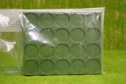 Renedra PLASTIC LARGE MOVEMENT TRAYS PACK OF 4 for 25mm ROUND bases