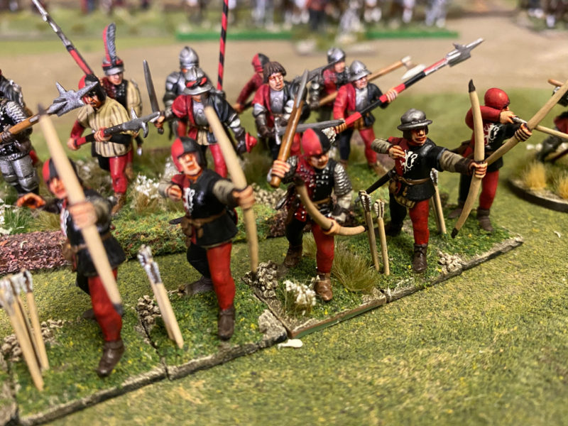 Lord Callans Archers with Livery badges added