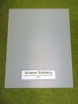 1 sheet of CLEAR Plasticard 80/000 Terrain & Scenery