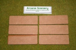 120mm x 40mm LASER CUT MDF 2mm bases will suit FOW game