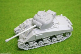 1/48 scale – 28mm WW2 FIREFLY SHERMAN resin tank from Blitzkrieg Miniatures
