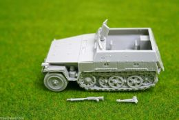 1/48 scale – 28mm WW2 GERMAN 250/1 NEU HALFTRACK  Blitzkrieg miniatures