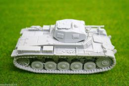 1/48 scale – 28mm WW2 GERMAN PANZER II Ausf. A resin tank Blitzkrieg miniatures
