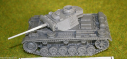 1/48 scale – 28mm WW2 GERMAN PANZER III Ausf. L resin tank Blitzkrieg miniatures