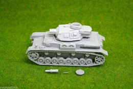 1/48 scale – 28mm WW2 GERMAN PANZER IV Ausf. F1 resin tank Blitzkrieg miniatures