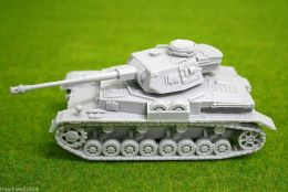 1/56 scale – 28mm WW2 GERMAN PANZER IV Ausf. G resin tank Blitzkrieg miniatures