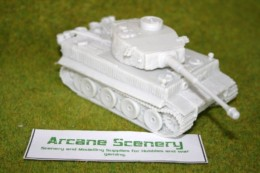 1/48 scale – 28mm WW2 GERMAN TIGER 1 ZIMMERIT resin tank Blitzkrieg Miniatures