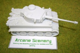 1/48 scale – 28mm WW2 GERMAN TIGER 1 resin tank from Blitzkrieg Miniatures