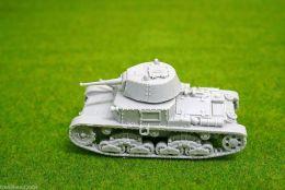 1/48 scale – 28mm WW2 ITALIAN M13/40 tank Blitzkrieg miniatures Resin Model