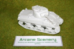1/48 scale – 28mm WW2  SHERMAN V resin tank Blitzkrieg Miniatures